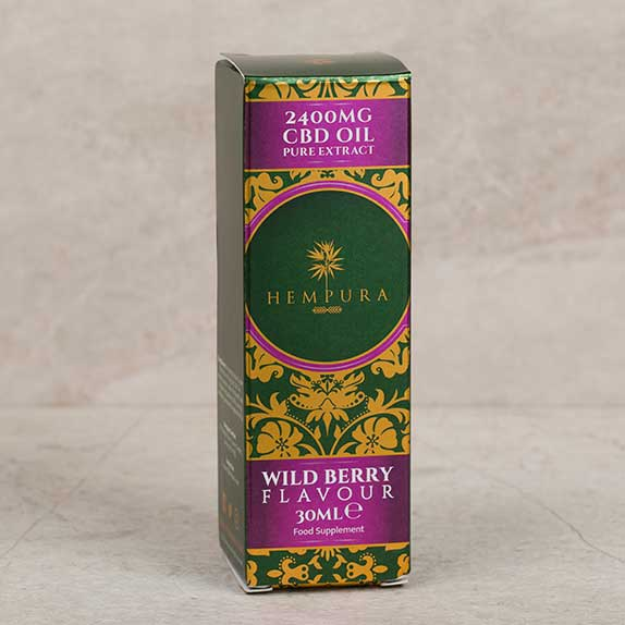 hempura cbd wild berry flavour oil