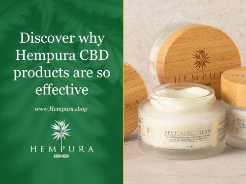 Discover why Hempura CBD cream is so effective